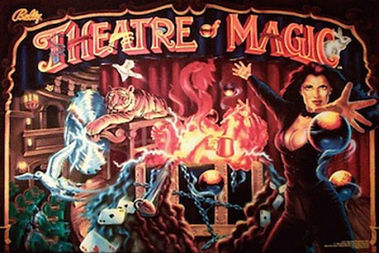 Pinball Theatre of Magic | Pinballs