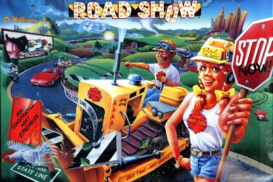 Red & Ted's Road Show Pinball | Road Show Pinball
