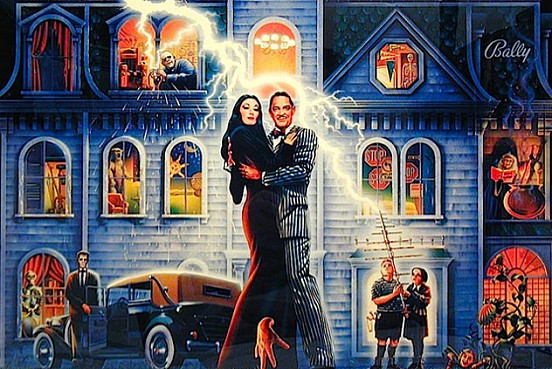 Pinball The Addams Family | Pinballs
